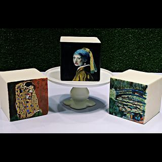 Iconic Paintings on Cake
