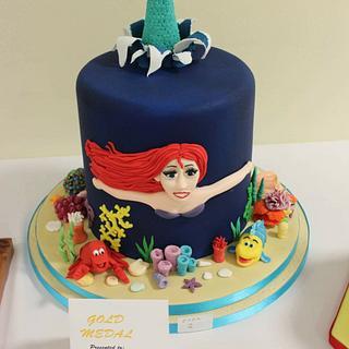 Mermaid cake  - Cake by Hayleycakes