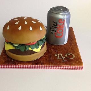 Fast food cake