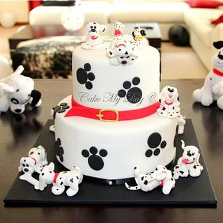 101 dalmatians - Cake by Cake My Day