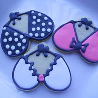 Boobie Cookies - Cake by bakedbyrachel