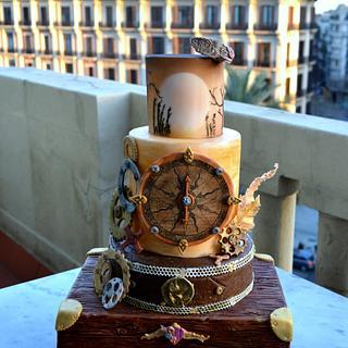 Steam Punk Cake - Cake by Emy