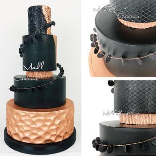 Wedding cake black magic