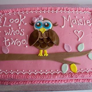 Maisie's 2nd Birthday cake