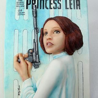 Cake Con International - Comic Book Edition - Princess Leia