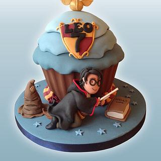 Harry Potter Giant Cupcake