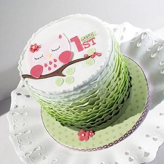 Olivia's 1st Birthday Cake