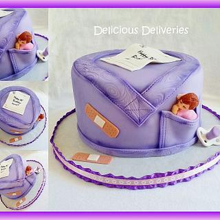 Nurse's Scrub Cake