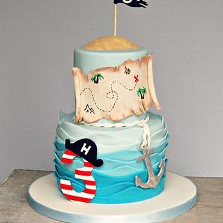 Harry's Pirate Birthday Cake