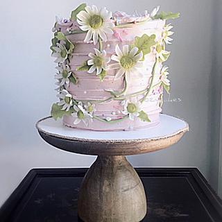 Spring Daisies Cake
