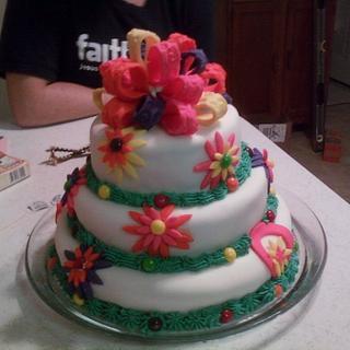 Destiney's 16th Birthday cake - Cake by Teresa Hastings