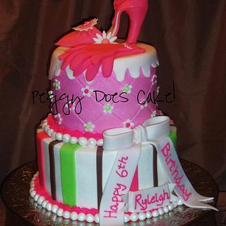 Ryleigh's High Heel Cake