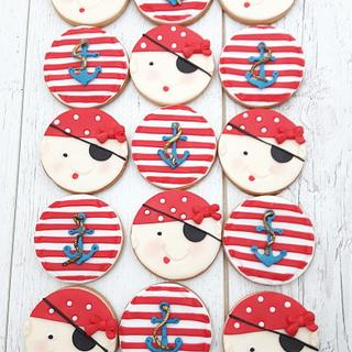 Sweet pirate cookies  - Cake by Nebibe Nelly