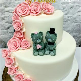 Me to you wedding cake