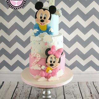 Sweet Mickey and Minnie