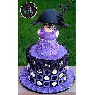 Caker Buddies Collabration Retro Fashion Cake
