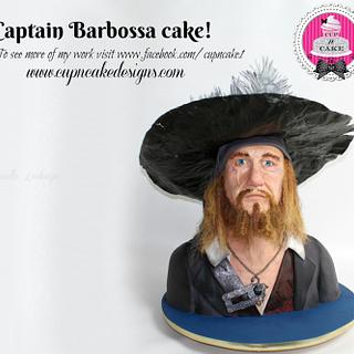 Captain Barbossa Cake!