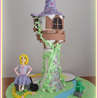 Rapunzel tangled - Cake by Konstantina - K & D's Sweet Creations