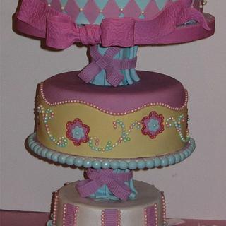 Backwards cake!