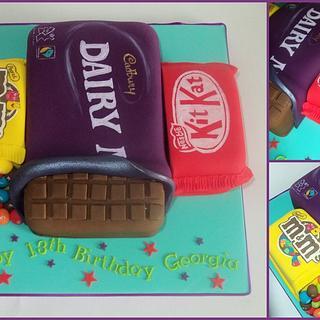 Chocolate Cake...literally!