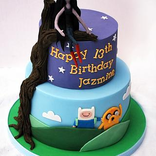 Adventure Time Marceline Cake