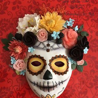Mask of Catrina @Sugar Skull Bakers 2017