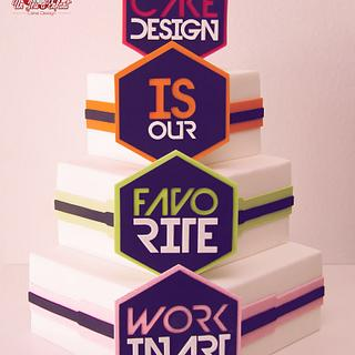CAke DeSign is Our FavoRite WorK in Art !
