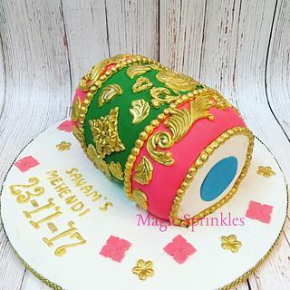 Indian Dholki cake