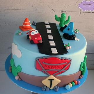 Rayo McQueen Cake - Cake by Be Sweet