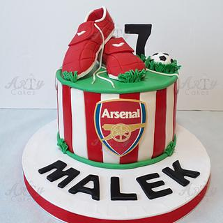 Arsenal club cake
