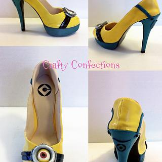 Minion shoe - just for fun!