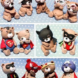 Carnival bears :)) - Cake by Estrele Cakes