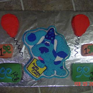 Blue's Clues Cake - Cake by Michelle