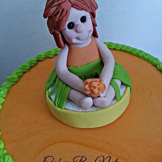 Hawaiian themed cake  - Cake by Cakes By Natz