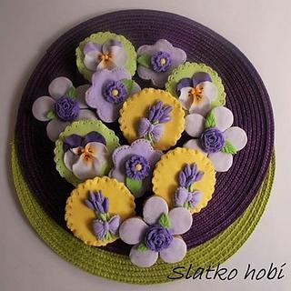 Flowers - Cake by Olga Paunceva
