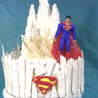 Superman Fortress of Solitude with Lighting  Effect