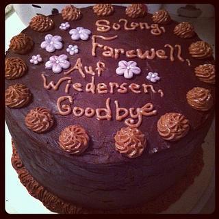 Chocolate Oblivion Cake
