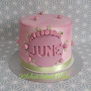 Spring Rose Cake