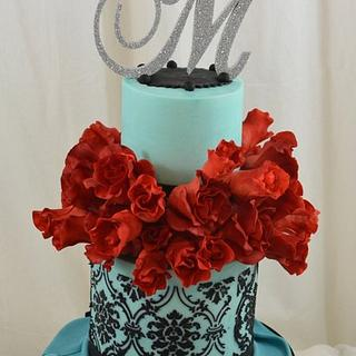 Sugar Roses and Damask