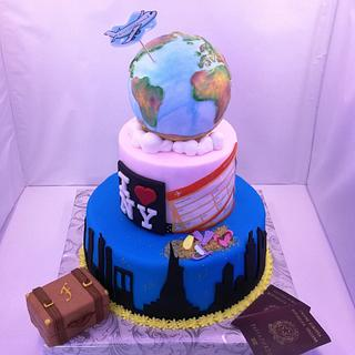 TRIP CAKE - Cake by SugarClo