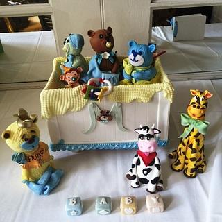 Toy Box Baby Shower