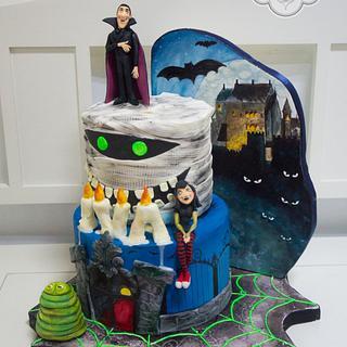 Hotel Transylvania cake - Cake by Ceca79