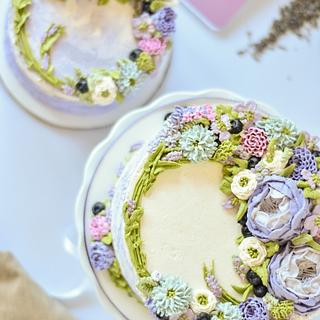 Lavender Cake  - Cake by Deva Williamson