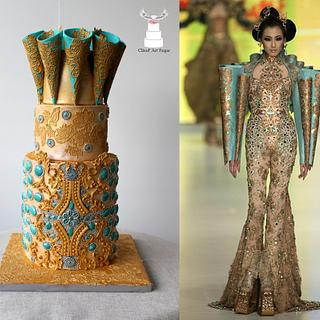 "Couture Cakers International 2018 - ""Jewel"""