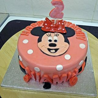 Minnie Cake - Cake by carmim