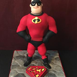Baking for Super Josh - Mr Incredible