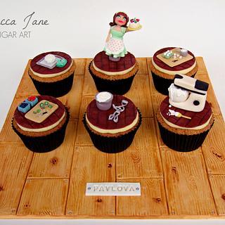 Baking Pavlova Cupcakes!