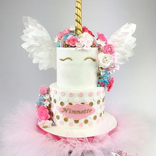 Unicorn Shower Cake