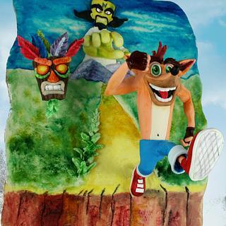Crash Bandicoot Arcade GAme collab