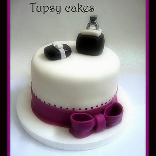 eternity  - Cake by tupsy cakes
